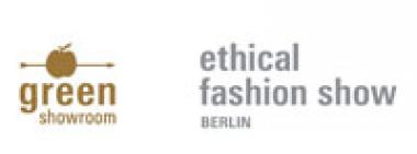 Logo green showroom & ethical fashion show Berlin