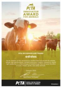 PETA Innovatior Award For Animals