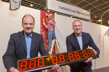 Heimtextil: VDT targets wallpapering world record