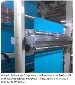 Baldwin showcases groundbreaking TexCoat G3 in Turkey at ITM