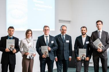 Dissertation and Creativity Award of the German Textile Machinery Foundation 2018 to go to Aachen