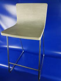Concrete bar stool with hybrid carbon reinforcement for fast, cost-efficient part production
