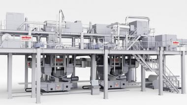 Oerlikon Nonwoven meltblown technology meanwhile in demand across the globe