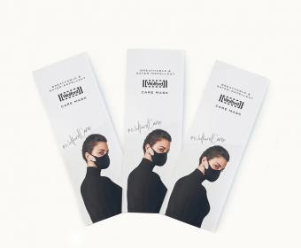Sappi: High-quality face masks – in top-quality packaging