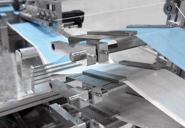 "With the PFAFF 4520, engineers and technicians from PFAFF have designed a full-automatic production line (CE compliant) for processing multi-layer disposable masks, which meets the requirements of ""German engineering"" in a unique way."