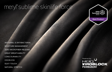 HeiQ/Nylstar: Launch of HeiQ Viroblock Permanent on Meryl® Skinlife Force