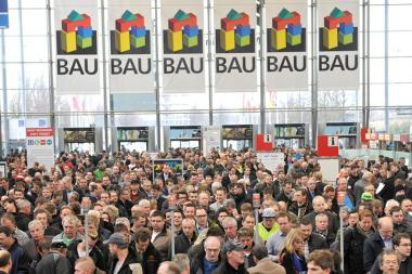 Visitors at the BAU 2017