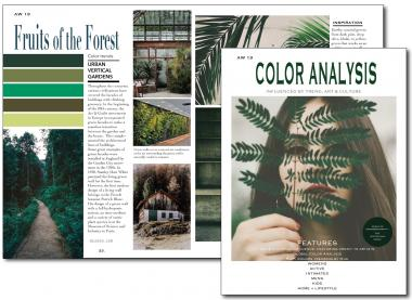 Color Analysis – The Color Trend Magazine for Autumn/Winter 2019