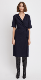 Linen Wrap Dress by Filippa K enriched by Naturally Clean finishing