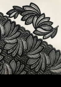 Lace and embroidery by Iluna Group with ROICA™ EF