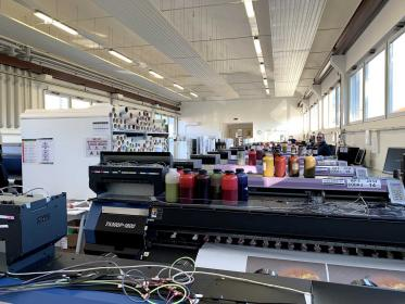 Digitak services always in fashion with Mimaki sublimation and direct printing