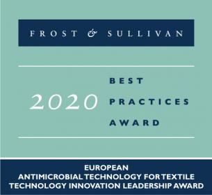 Devan lauded by Frost & Sullivan for its antimicrobial technology with proven quaternized silane chemistry