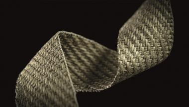 Flax for Composites: Woven tapes made of natural fibres by vombaur