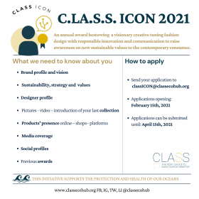CALL TO ACTION of C.L.A.S.S. ICON 2021